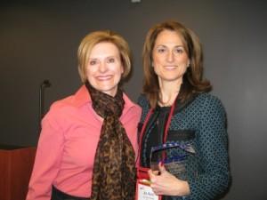 L-R Nancy Lurker, CEO, PDI and Jo Ann Saitta WINNER CIO of the YEAR AWARD